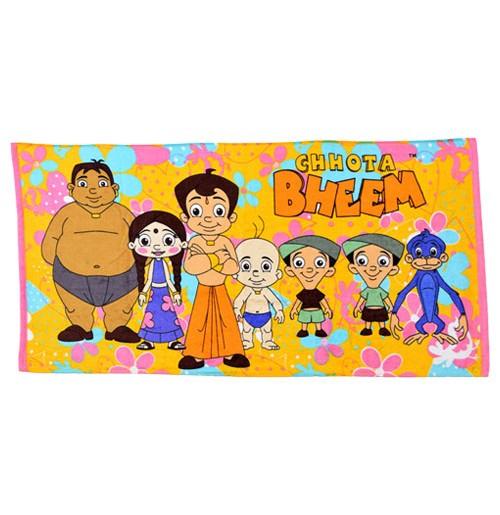 Chhota Bheem Towel - Chhota Bheem Gang