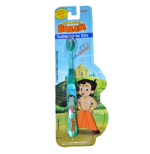 Chhota Bheem Tooth Brush  - Green