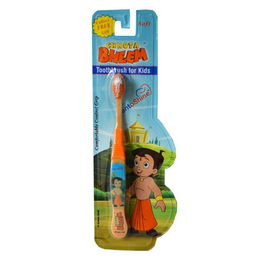 Chhota Bheem Tooth Brush - Orange