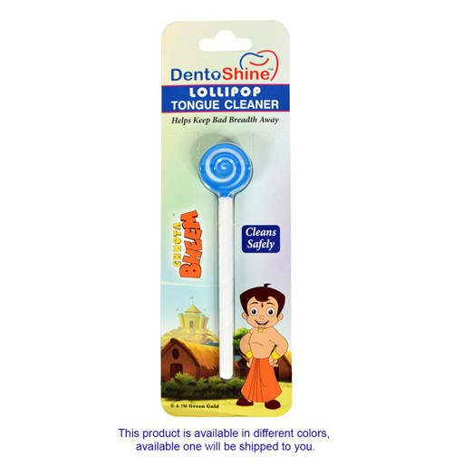 Lollipop Tongue Cleaner - Chhota Bheem