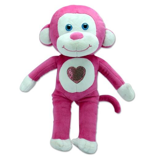 Monkey - Dark Pink