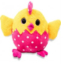 Chicken Plush - Dark Pink