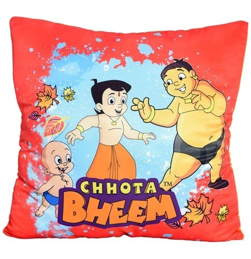 Chhota Bheem Cushion - Red