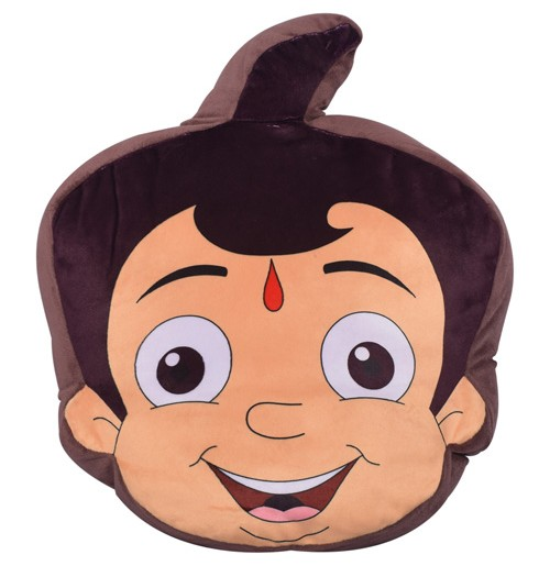 Chhota Bheem Face Cushion