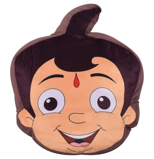 Chhota Bheem Face Cushion