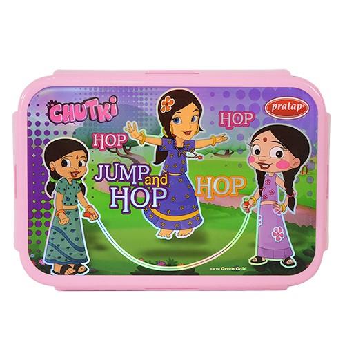 Chhota Bheem Lunch Box Purple