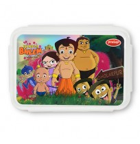 Chhota Bheem Lunch Box Red and White