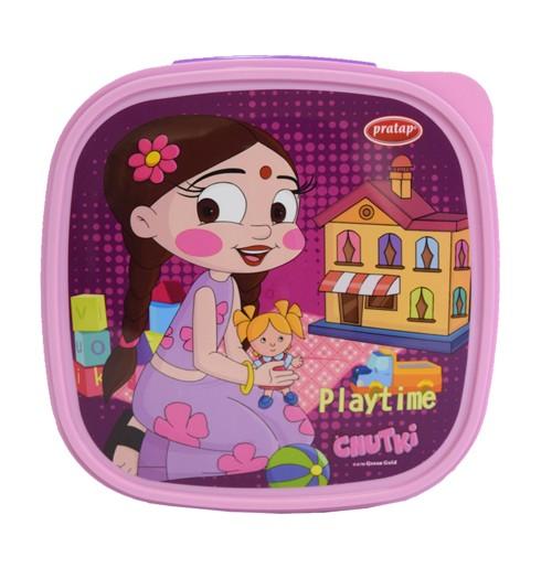 Chhota Bheem Lunch Box Pink & Purple