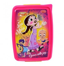 Chutki Lunch Box Pink & Yellow