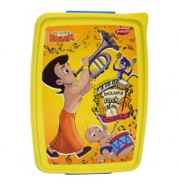 Chhota Bheem Lunch Box Yellow & Blue