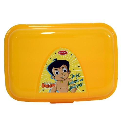 Chhota Bheem Lunch Box Yellow