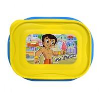 Chhota Bheem Lunch Box Light Yellow & Blue