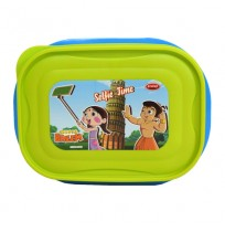 Chhota Bheem Lunch Box Light Green & Blue