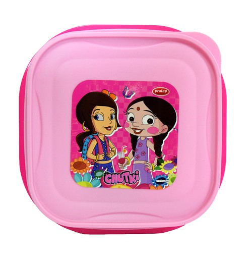 Chutki Lunch Box Dark Pink & Light pink