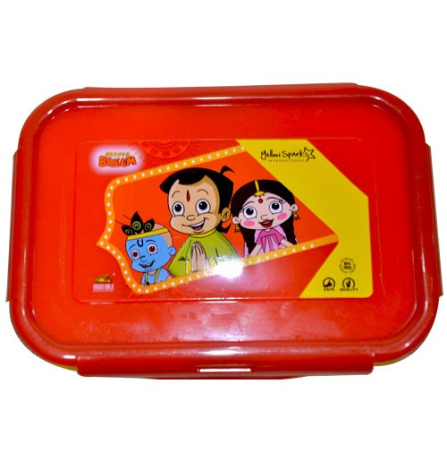 Lunch Box - Red and Yellow