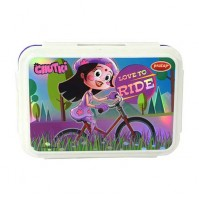 Chhota Bheem Double Decker Lunch Box Purple