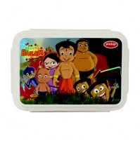 Chhota Bheem Double Decker Lunch Box Red
