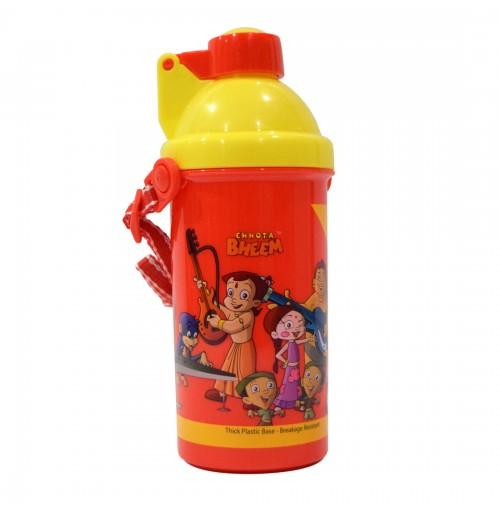 PB Water Bottle Chhota Bheem - Red and Yellow