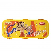 Chhota Bheem Pencil Box Yellow