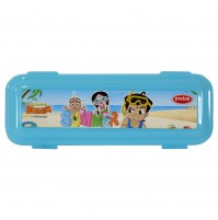 Chhota Bheem Pencil Box Blue2