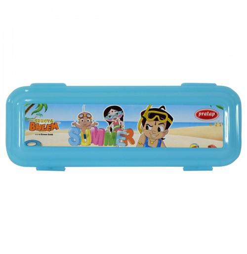 Chhota Bheem Pencil Box Blue2