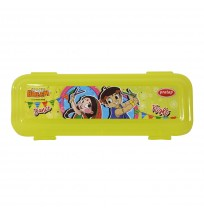 Chhota Bheem Pencil Box Light Green