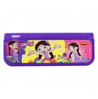 Chhota Bheem Pencil Box Purple