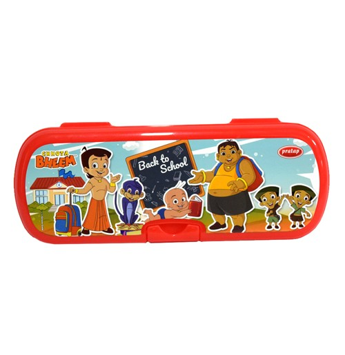 Chhota Bheem Pencil Box Red