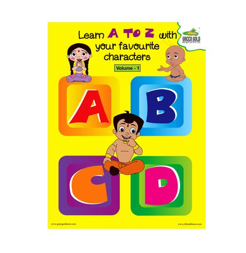 Chhota Bheem Learn Alphabets