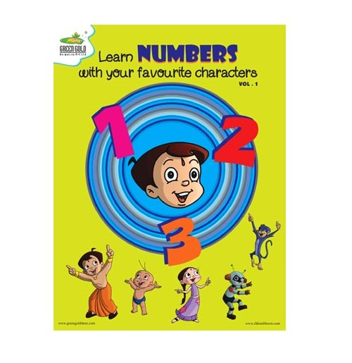Chhota Bheem Learn Numbers