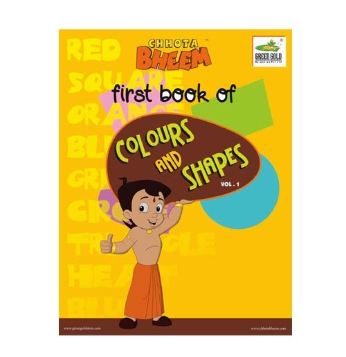 Chhota Bheem Colors & Shapes