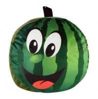 Watermelon Shape Plush Bag