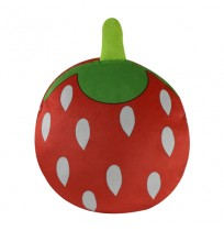 Strawberry Shape Plush Bag