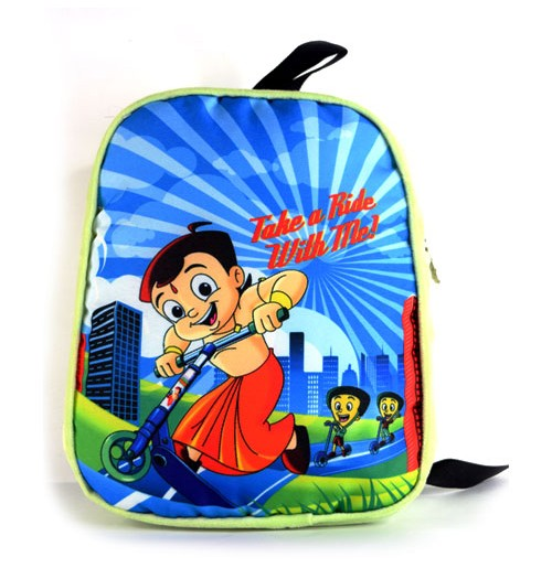 Chhota Bheem Take A Ride Plush Bag