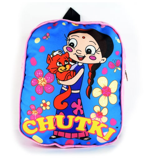 Chutki With Bear Dark Pink