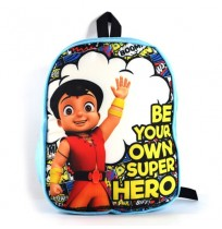 Super Bheem Hero Bag - Blue