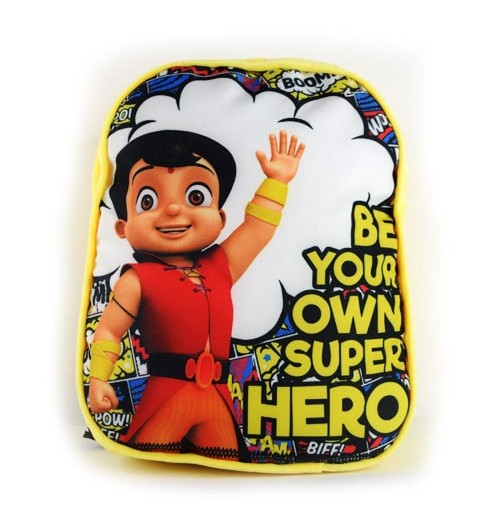 Super Bheem Hero Bag - Yellow