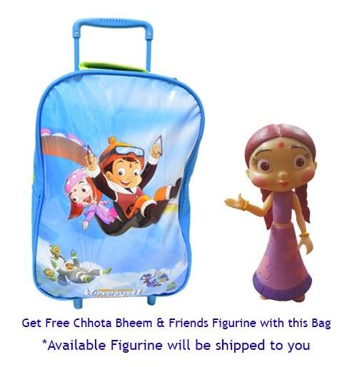 Chhota Bheem Trolley Bag
