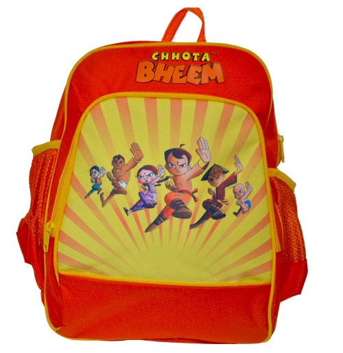 School Bag - Orange