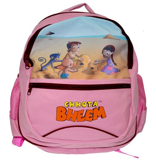 School Bag - Light Pink