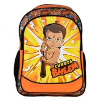 Chhota Bheem School Bag - Orange