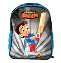 Chhota Bheem School Bag - Blue and White