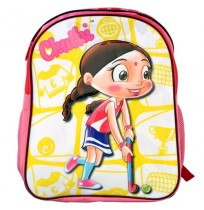 Chutki School Bag - Dark Pink