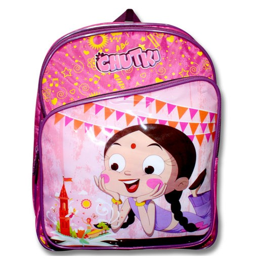 Chutki School Bag - Pink