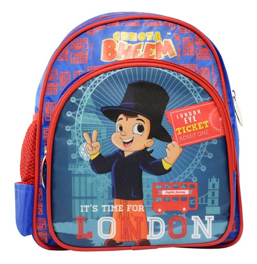 Chhota Bheem School Bag London Theme