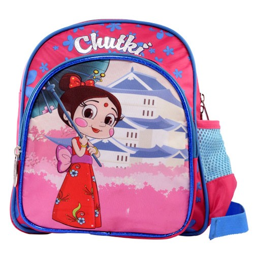 Chutki School Bag Japanese Pose