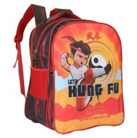 Kung Fu Dhamaka Bheem Red Kung fu School Bag