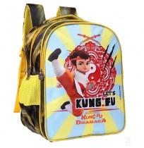 Kung Fu Dhamaka Bheem Yellow Kung fu School Bag