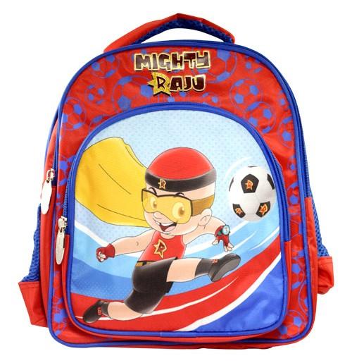 Mighty Raju School Bag Football Theme