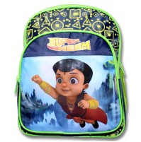 Supre Bheem School Bag - Blue and Green